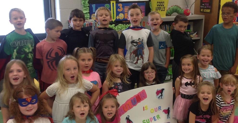 Mrs. Clouse's Class Childhood Cancer Awareness