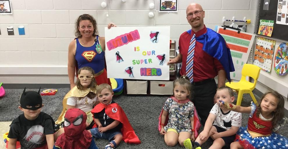 Mrs. Brooks' Class Childhood Cancer Awareness