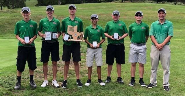 High School Golf Team 2018 OVAC 3A Golf Champions