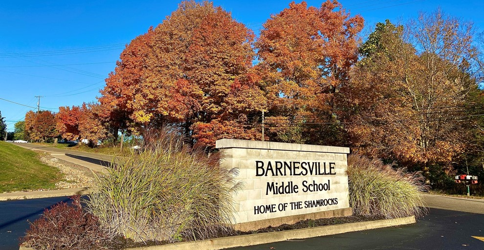 Fall at Barnesville Middle School